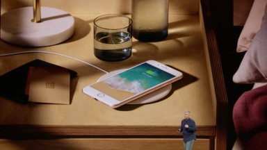 The iPhone X will have wireless charging