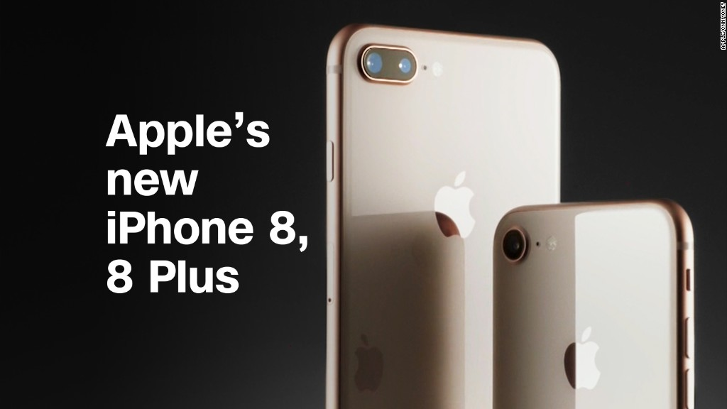 Apple's new iPhone 8, iPhone 8 Plus in :90