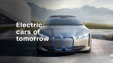Electric cars of tomorrow