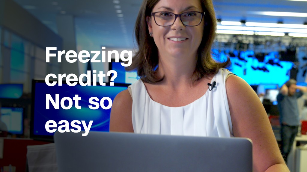 Why aren't credit freezes free for all?