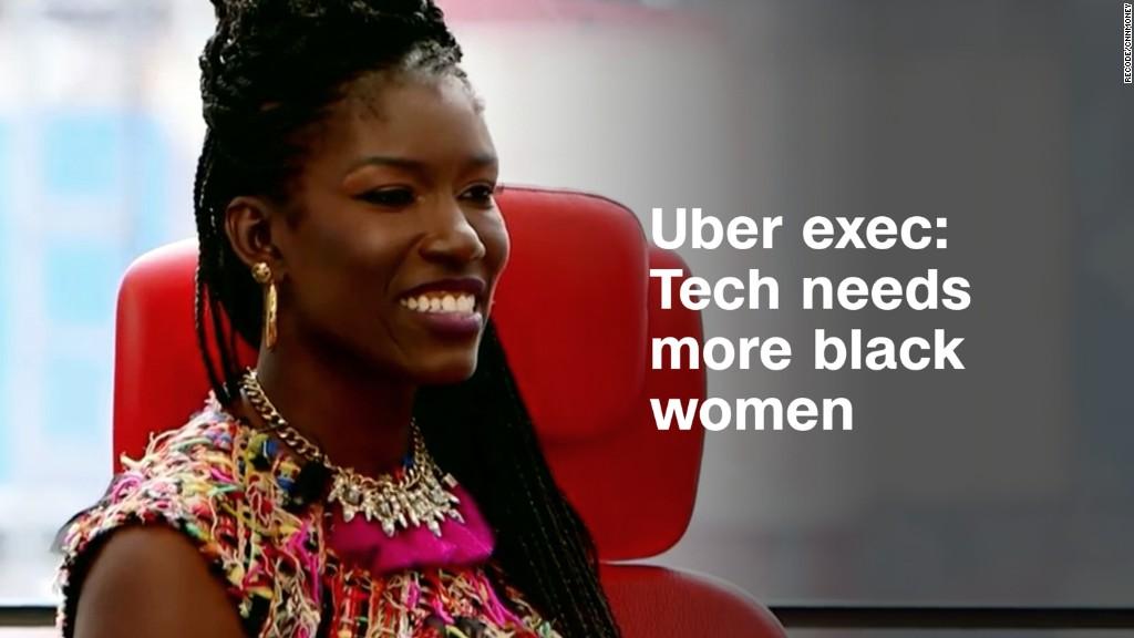 Uber exec: We need more black women in tech