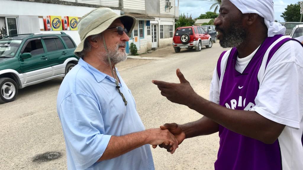 Robert De Niro: We have a 'responsibility' to rebuild Barbuda