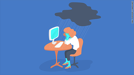 How to cry at work (without losing respect)