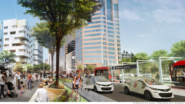 Lyft's redesigned street concept could fix L.A. traffic