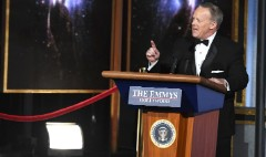 Sean Spicer makes surprise cameo at Emmys