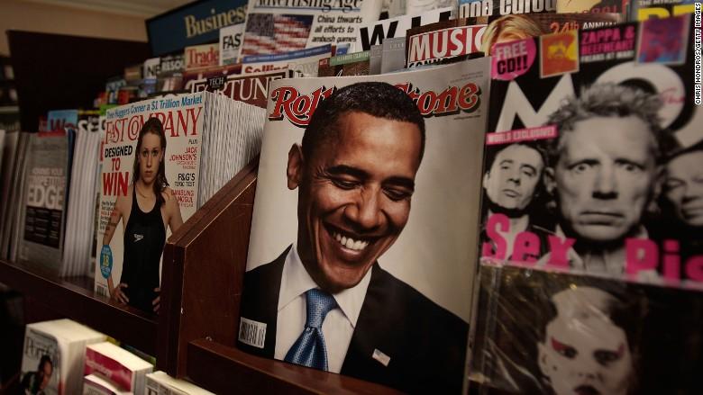 rolling stone magazine cover barack obama