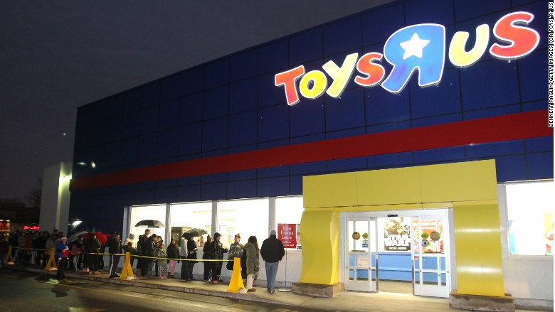 Toys 'R' Us plans holiday hires