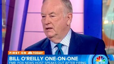 Bill O'Reilly defends himself in tense interview with Matt Lauer