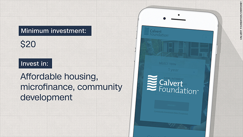 impact investing platforms calvert