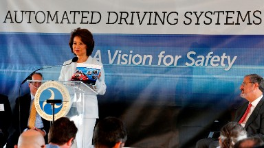 Elaine Chao reduces self-driving car privacy to a footnote
