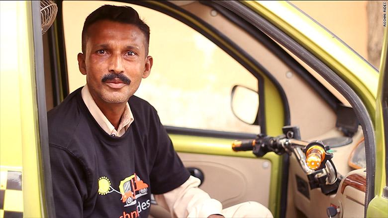roshni rides driver
