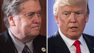 Bannon orders Breitbart to step up negative coverage of Trump-backed candidate
