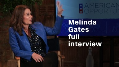 Melinda Gates and her hope for women & girls