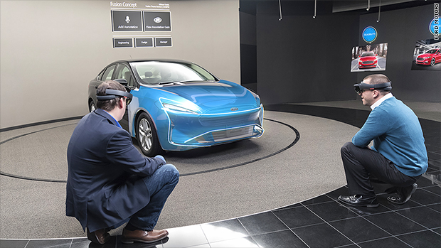 Ford using hologram goggles to design cars