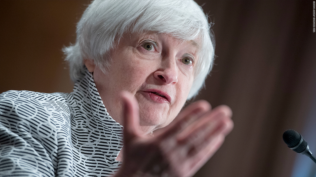Janet Yellen: Tax plan's deficits could make it harder to fight a recession