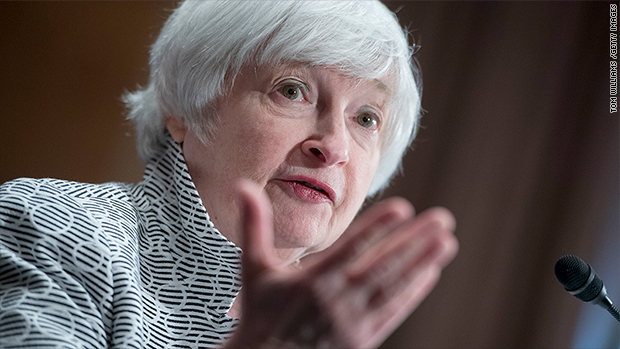 Wall Street loves the Fed and Janet Yellen