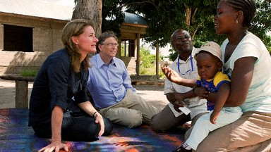 Why Bill and Melinda Gates are spending a lot of time in Washington