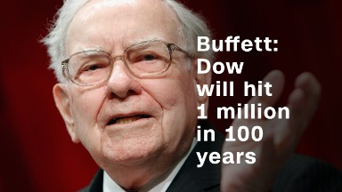 Buffett: Dow will hit 1 million in 100 years