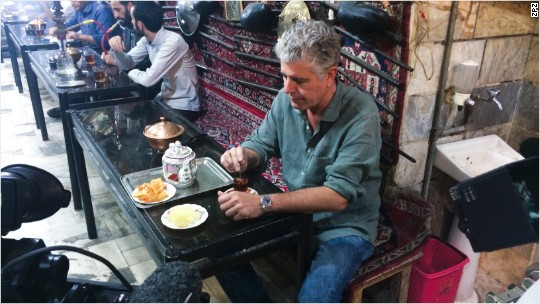 Bourdain: Place that can warm your heart and break it