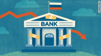 russia bailing out banks