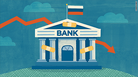 Russia has bailed out two major banks in under a month