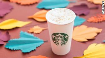 stabucks maple pecan latte