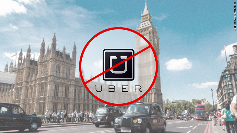 London says it won't renew Uber's license