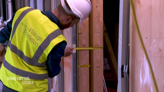 London architects embrace timber