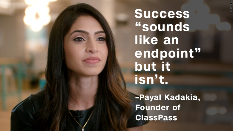 fresh money payal kadakia classpass