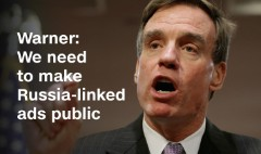Warner: We need to make Russia-linked ads public