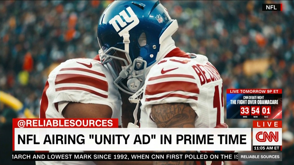 See the 'unity' ad the NFL is airing after Trump's attack