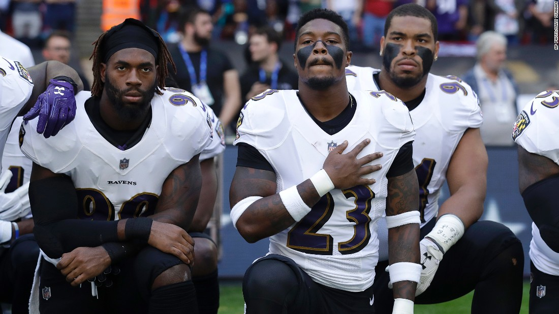 Sports media gets political after Trump's NFL comments