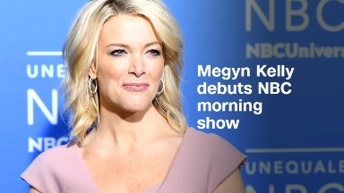 Megyn Kelly debuts NBC morning show