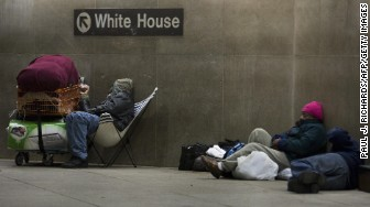 Washington DC homeless