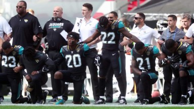 #TakeAKnee heats up on and off the field