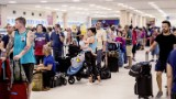 Puerto Rico's main airport is barely functioning