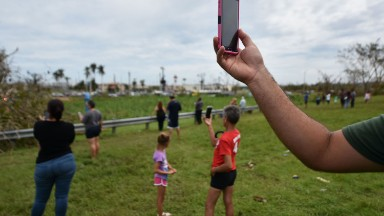 It's been 9 days. Puerto Rico has almost no cell service