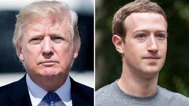 Zuckerberg responds to Trump's claim Facebook was out to get him