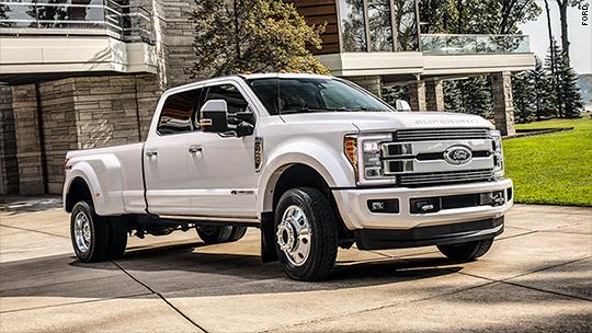 Ford reveals $100,000 F-450 pickup truck