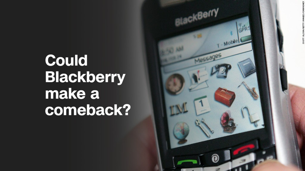 BlackBerry shares jump 8% in premarket trading