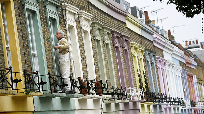 London's property market is in a coma