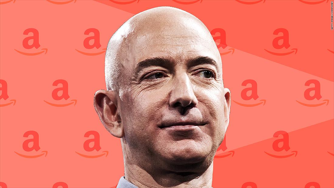 Jeff Bezos is now worth $100 billion