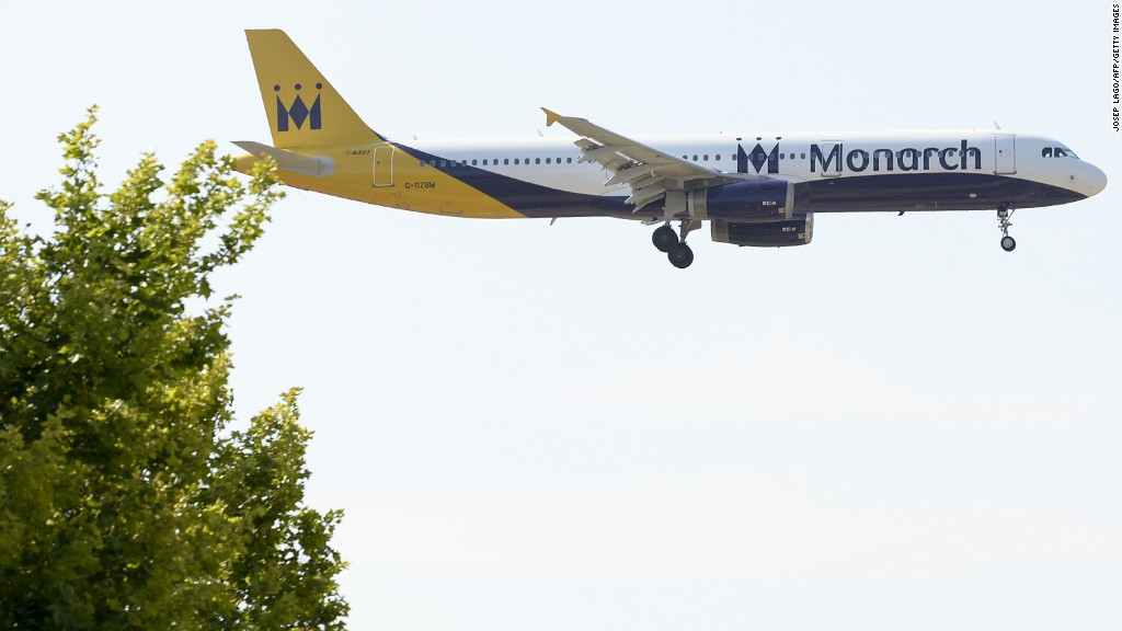 Monarch stops trading, flights canceled