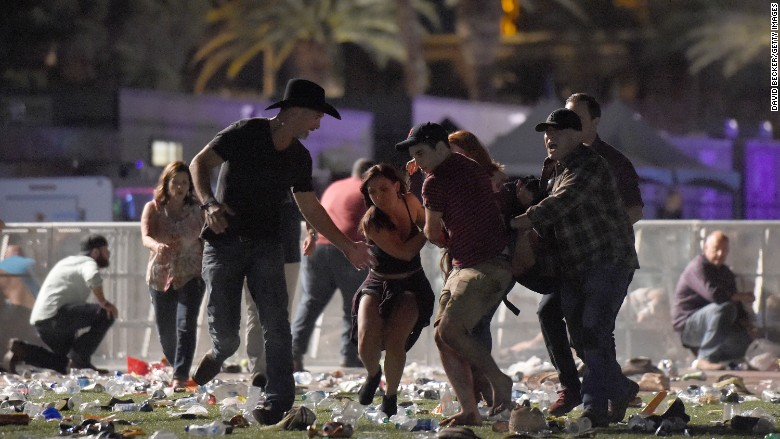 'Beyond horrific.' Country music world stunned by Las Vegas shooting