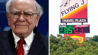Warren Buffett gets into the truck stop business