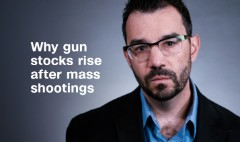 Here's why gun stocks rise after mass shootings