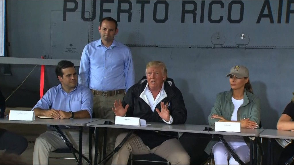 Trump: Puerto Rico threw budget out of whack