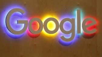 google logo wall