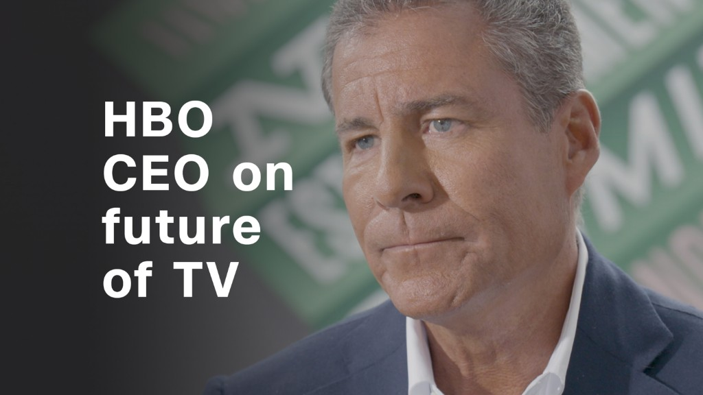 HBO CEO on competition: 'More is not better. Only better is better'