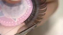 This is where your false eyelashes are made